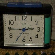 Relojes - Casio: RELOJ DESPERTADOR MARCA CASIO,CON LUZ.. Lote 43409116