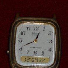 Relojes - Casio: ANTIGUO RELOJ CASIO EXTRAPLANO ANALOGICO Y DIGITAL,COLECCIONISTAS.. Lote 43444786