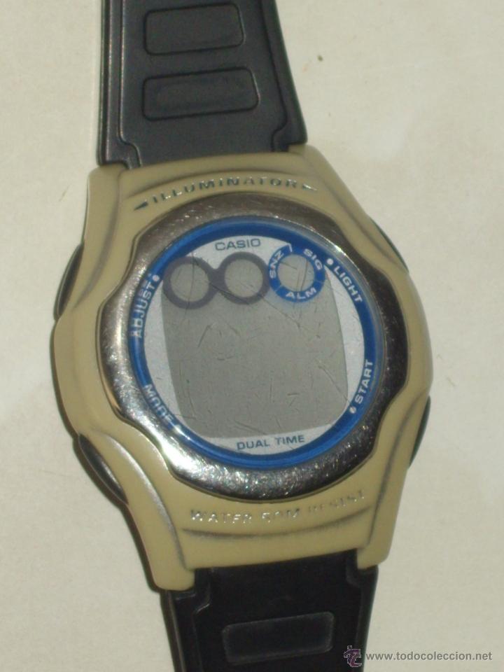 Relojes - Casio: RELOJ CASIO ILUMINATOR,FUNCIONANDO. - Foto 2 - 44306858