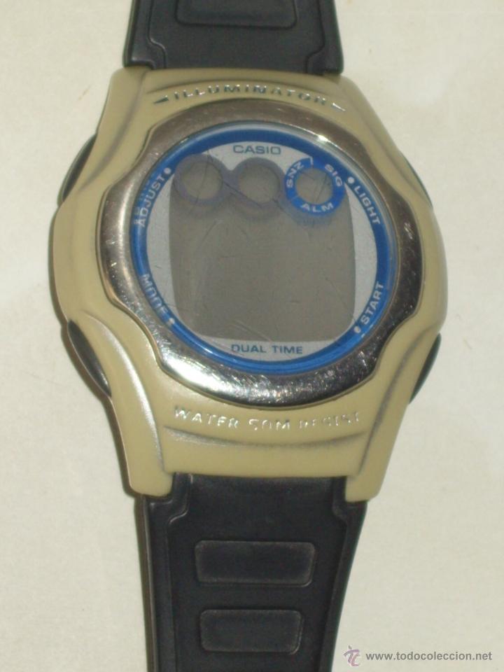Relojes - Casio: RELOJ CASIO ILUMINATOR,FUNCIONANDO. - Foto 3 - 44306858