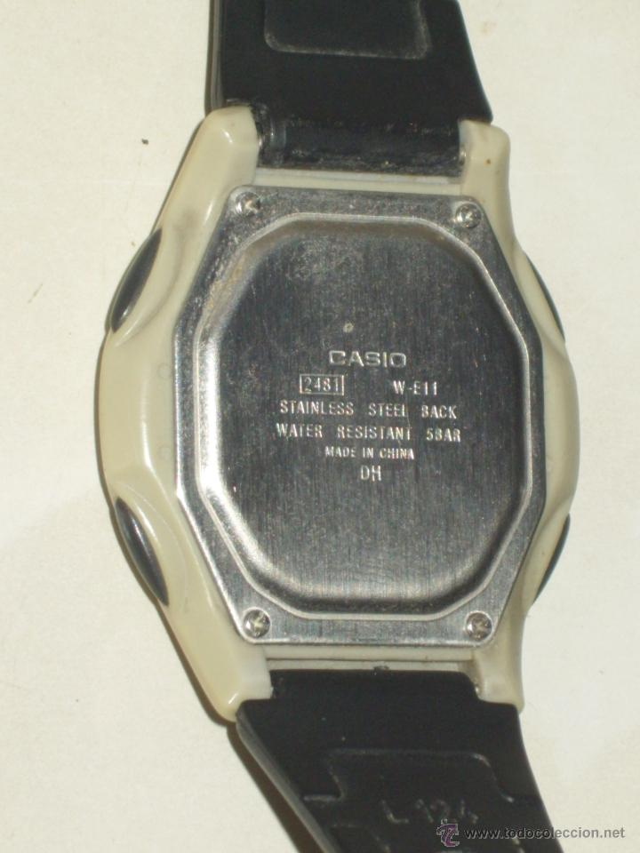 Relojes - Casio: RELOJ CASIO ILUMINATOR,FUNCIONANDO. - Foto 5 - 44306858