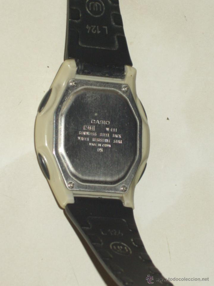 Relojes - Casio: RELOJ CASIO ILUMINATOR,FUNCIONANDO. - Foto 6 - 44306858