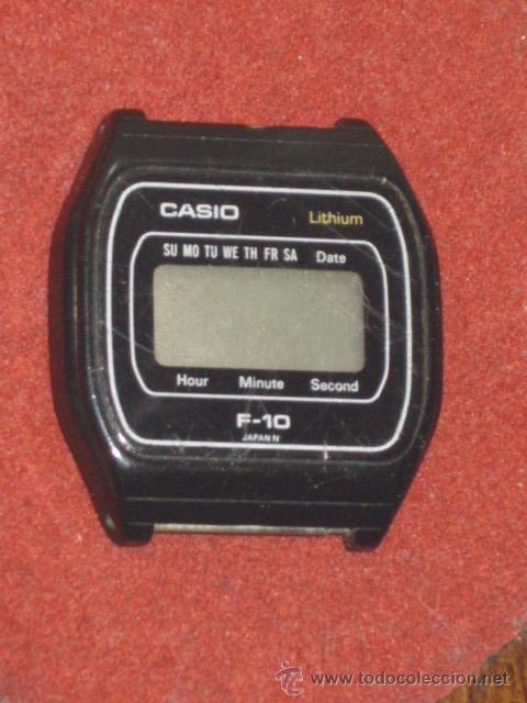 En 10 Casio F Entrega Vendido Reloj Venta Digital se Funcionando Pnk0wO