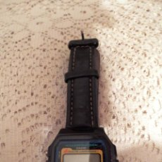 Relojes - Casio: CASIO DIGITAL MADE IN KOREA - CORREA PIEL - WR 100M - LUZ - CRONO - ALARMA - LUMINISCENTE. Lote 50939695