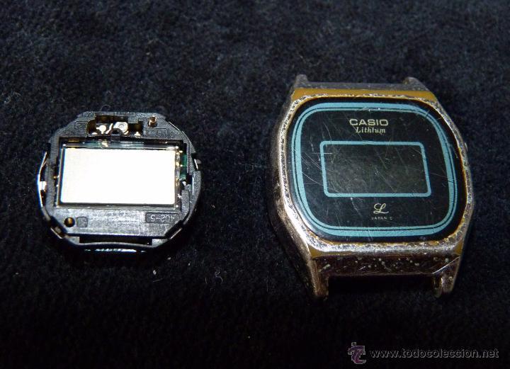 Relojes - Casio: RELOJ CASIO, MOD. 401 LB 610. ACERO. AÑOS 70. VINTAGE. SIN PROBAR - Foto 2 - 57259535