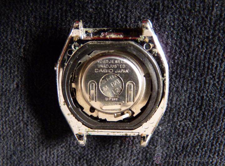 Relojes - Casio: RELOJ CASIO, MOD. 401 LB 610. ACERO. AÑOS 70. VINTAGE. SIN PROBAR - Foto 3 - 57259535