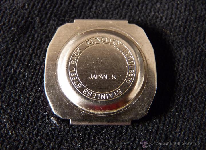 Relojes - Casio: RELOJ CASIO, MOD. 401 LB 610. ACERO. AÑOS 70. VINTAGE. SIN PROBAR - Foto 6 - 57259535