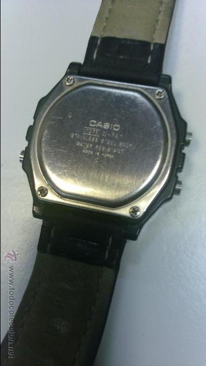 Relojes - Casio: CASIO DIGITAL MADE IN KOREA - CORREA PIEL - WR 100M - LUZ - CRONO - ALARMA - LUMINISCENTE - Foto 3 - 50939695