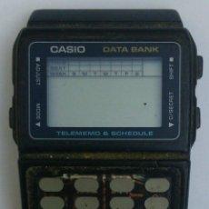 Relojes - Casio: ANTIGUA CAJA DE CASIO ILUMINATOR DBC 61 - TELEMEMO, ** PARADO ** A REVISAR. Lote 51477803