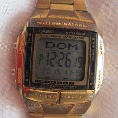 Relojes - Casio: RELOJ CASIO DATABANK VINTAGE MULTILINGUAL DB-360. Lote 53052270