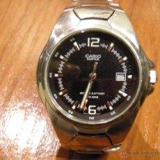 Relojes - Casio: RELOJ CASIO EDIFICE DESCATALOGADO. FUNCIONANDO PERFECTO EF-122. Lote 53105414