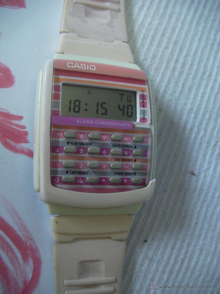 Relojes - Casio: ANTIGUO RELOJ CASIO CALCULADORA EN PERFECTO ESTADO DE FUNCIONAMIENTO - Foto 2 - 53557606