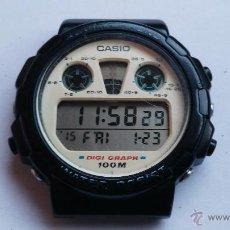 Relojes - Casio: RELOJ ANTIGUO CASIO MODELO 976 DGW30. Lote 54054943