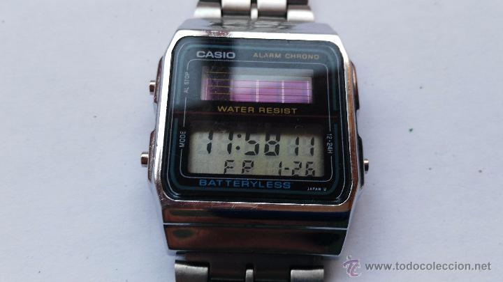 Reloj Solar Vendido Antiguo Venta 1 Casio Modelo 668 Al En MqSVpzGU
