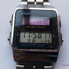 Relojes - Casio: RELOJ CASIO ANTIGUO CASIO SOLAR MODELO 668 AL-180 1ª VERSION NO SE SI ES ORIGINAL YO CREO QUE SI. Lote 143992021