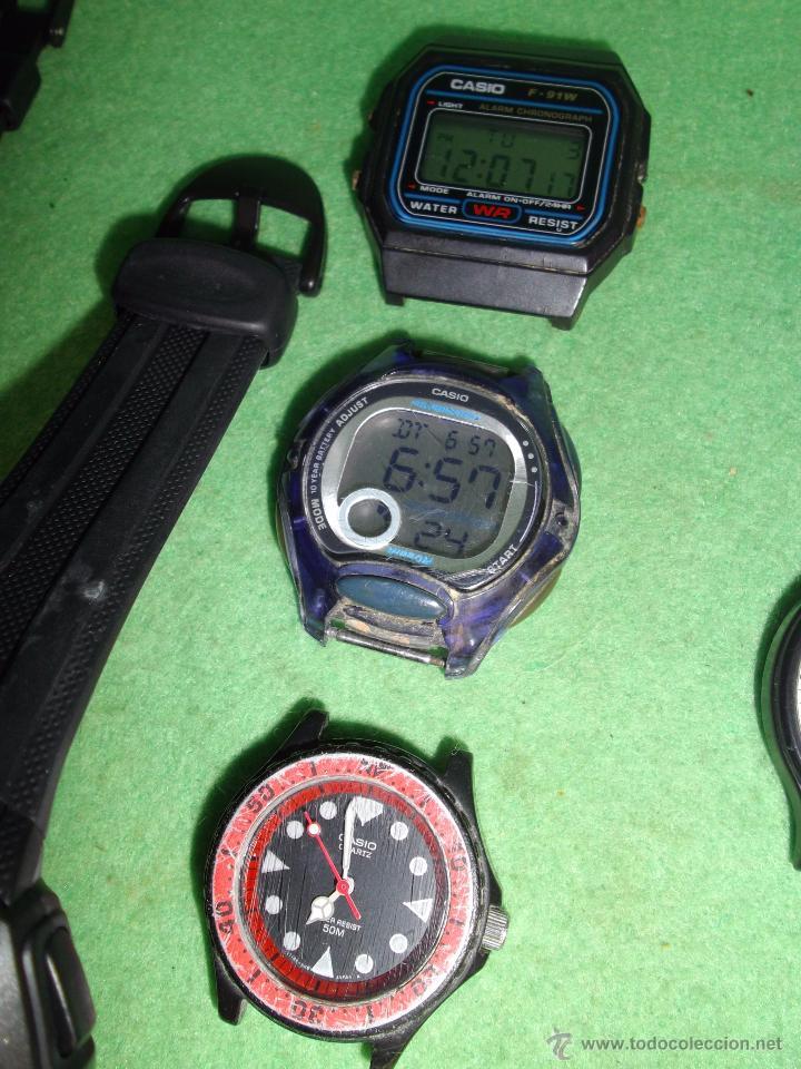 Relojes - Casio: RELOJ CASIO LOTE LRW-45 W-210 LRW-45 W-59 iluminator FUNCIONANDO VINTAGE COLECCION - Foto 4 - 54592035