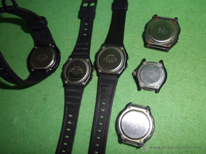 Relojes - Casio: RELOJ CASIO LOTE LRW-45 W-210 LRW-45 W-59 iluminator FUNCIONANDO VINTAGE COLECCION - Foto 5 - 54592035