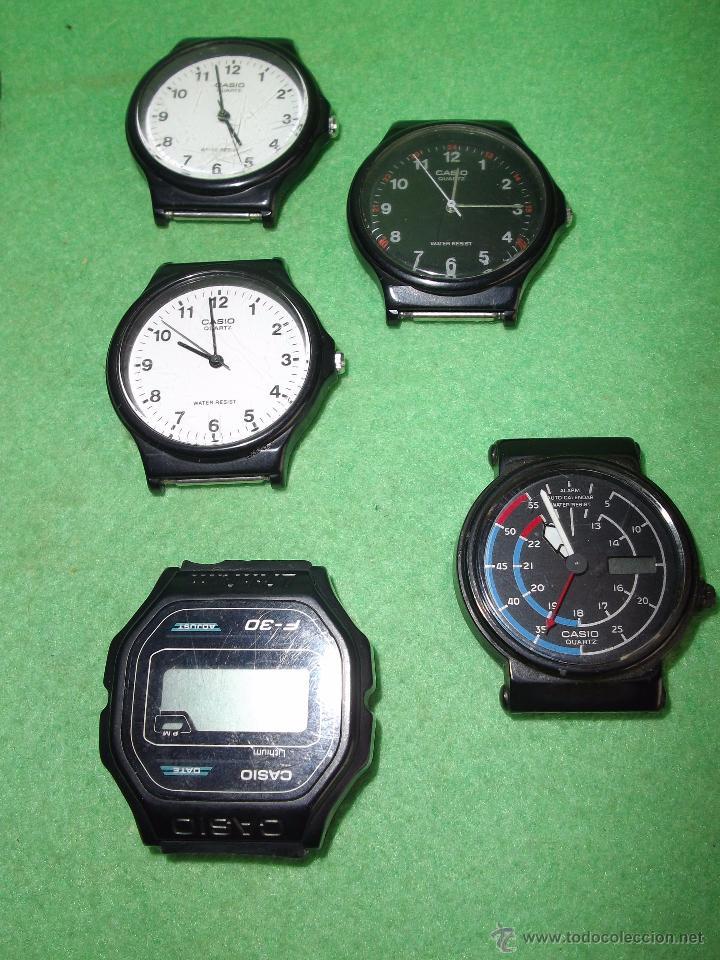 Relojes - Casio: RELOJ CASIO LOTE LRW-45 W-210 LRW-45 W-59 iluminator FUNCIONANDO VINTAGE COLECCION - Foto 6 - 54592035