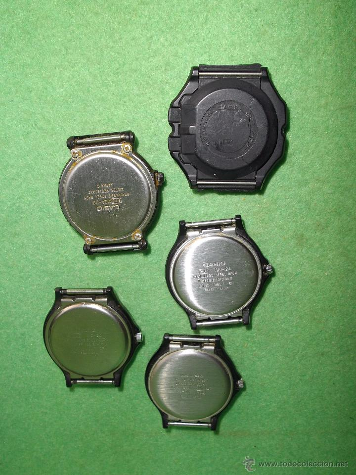 Relojes - Casio: RELOJ CASIO LOTE LRW-45 W-210 LRW-45 W-59 iluminator FUNCIONANDO VINTAGE COLECCION - Foto 7 - 54592035