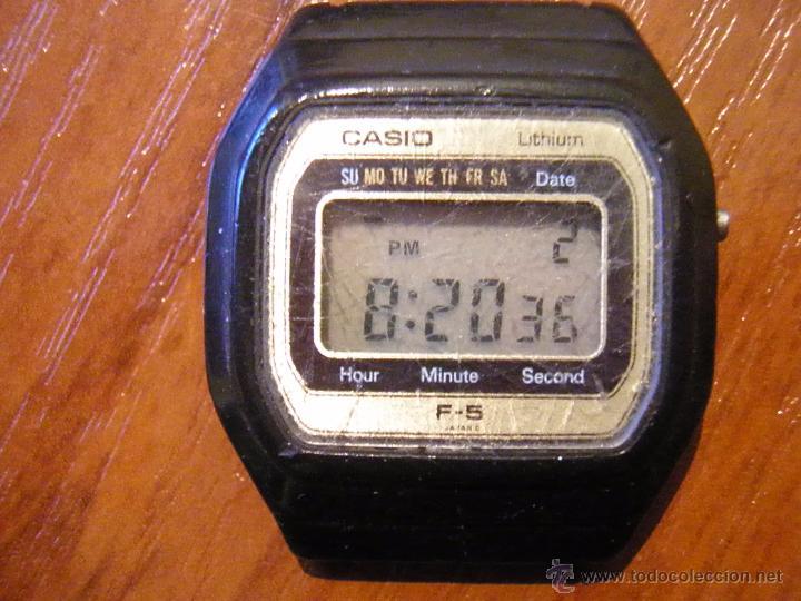 91b1b0fc73eb Reloj casio f-5 f5 funcionando - España - Ddesgaste propio de la edad.