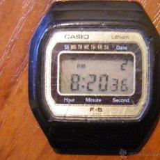 Relojes - Casio: RELOJ CASIO F-5 F5 FUNCIONANDO. Lote 54882187
