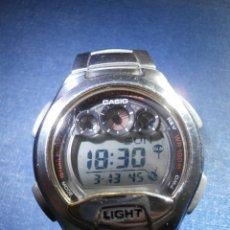 Relojes - Casio: RELOJ - CASIO W-755 - 100 M. - CAJA Y CORREA EN ACERO INOXIDABLE -. Lote 167705809