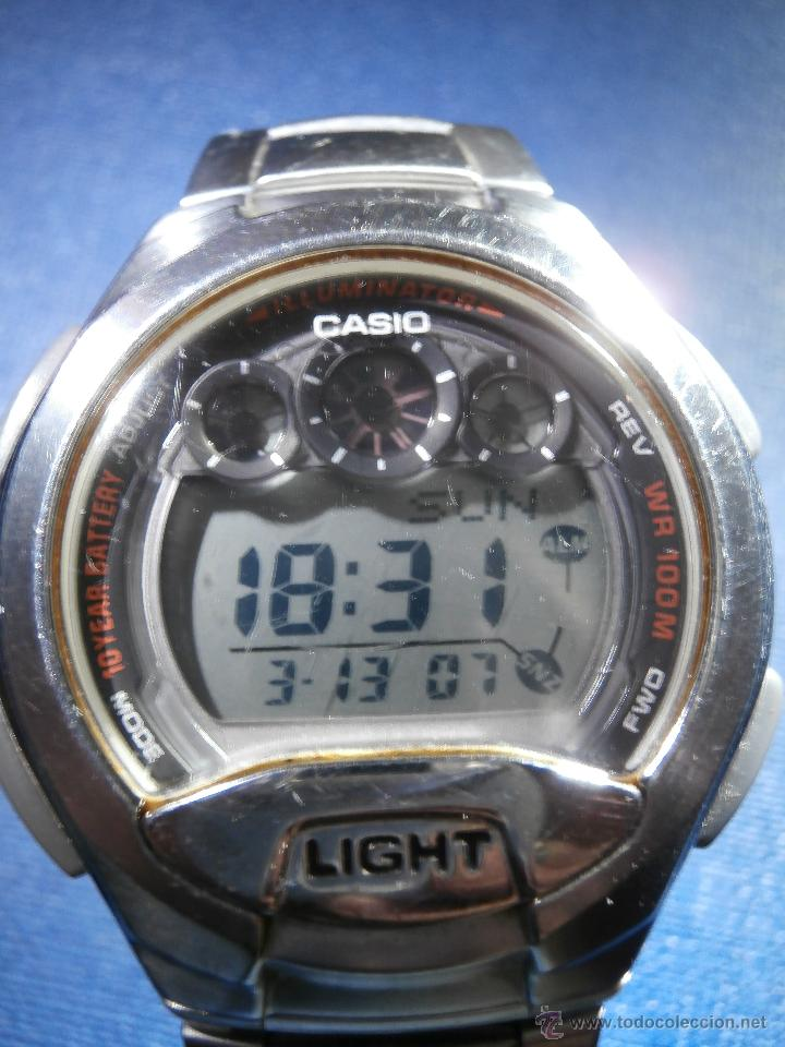 Relojes - Casio: Reloj - Casio W-755 - 100 m. - Caja y correa en acero Inoxidable - - Foto 2 - 167705809