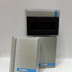 Relojes - Casio: CAJA DE PLASTICO DURO DE CASIO.. Lote 108439920