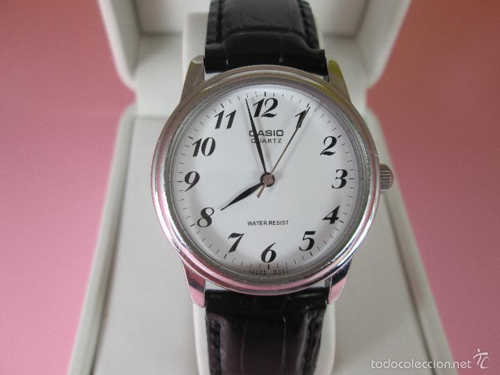 RELOJ-JAPÓN-CASIO QUARTZ-36 MM.D-BUEN ESTADO-FUNCIONANDO-VER FOTOS (Relojes - Relojes Actuales - Casio)