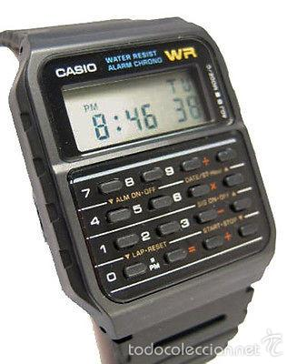 Digital Calculadora Retro 53w Reloj Casio 1 Ca Through Direct Sold deCWrBox
