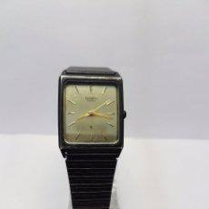 Relojes - Casio: RELOJ DE CABALLERO CASIO DE CUARZO PAVONADO (VINTAGE) CON CORREA ORIGINAL CASIO PAVONADA. Lote 57814734
