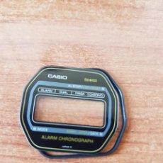 Relojes - Casio: CRISTAL ORIGINAL. CASIO CON EL ARO DE GOMA, NUEVO SIN USO PARA UNA CAJA CASIO O REPUESTOS. Lote 57857435