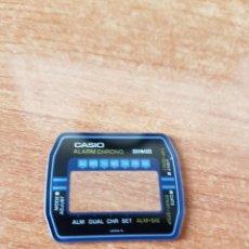 Relojes - Casio: CRISTAL ORIGINAL. CASIO CON EL ARO DE GOMA, NUEVO SIN USO PARA UNA CAJA CASIO O REPUESTOS. Lote 57956921