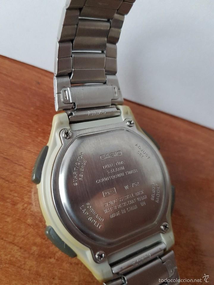 65afa5287b8f reloj de caballero casio (vintage) modelo w-752 - Comprar Relojes ...