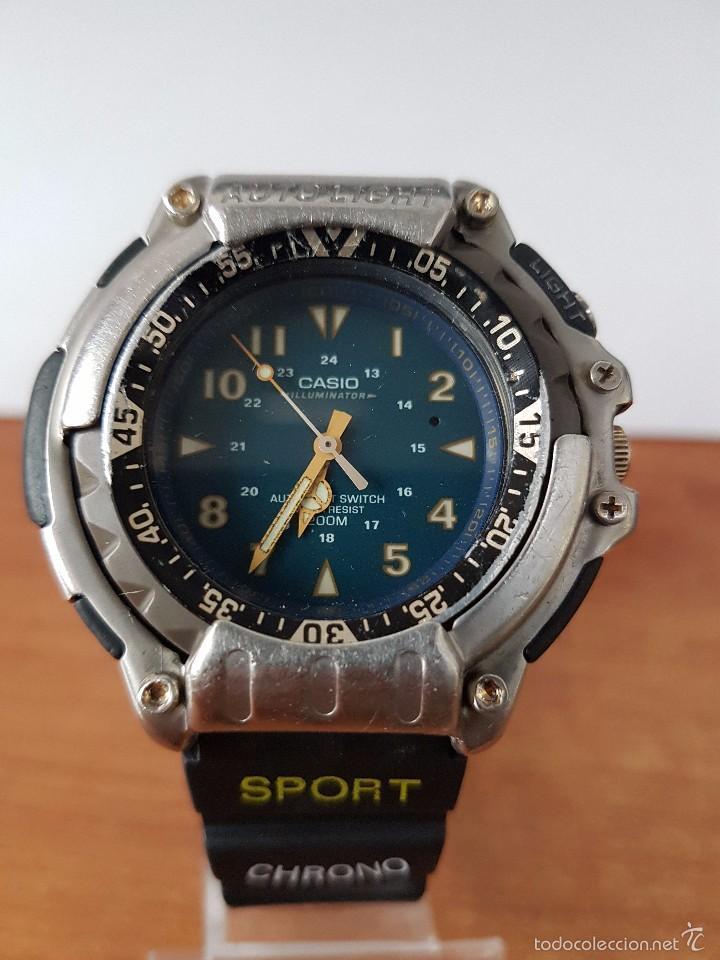 524721bc70f reloj de caballero (vintage) casio modulo 1388