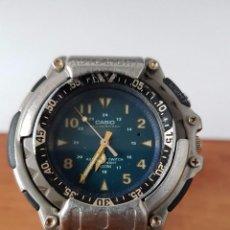 Relojes - Casio: RELOJ DE CABALLERO (VINTAGE) CASIO MODULO 1388, MODELO MD-310 CON CORREA DE GOMA PARA SU USO DIARIO. Lote 58685525