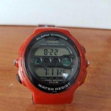 Relojes - Casio: RELOJ DE CABALLERO (VINTAGE) CASIO MÓDULO 902. GPX-1000 DE CUARZO DIGITAL CON CORREA DE GOMA. Lote 58709620