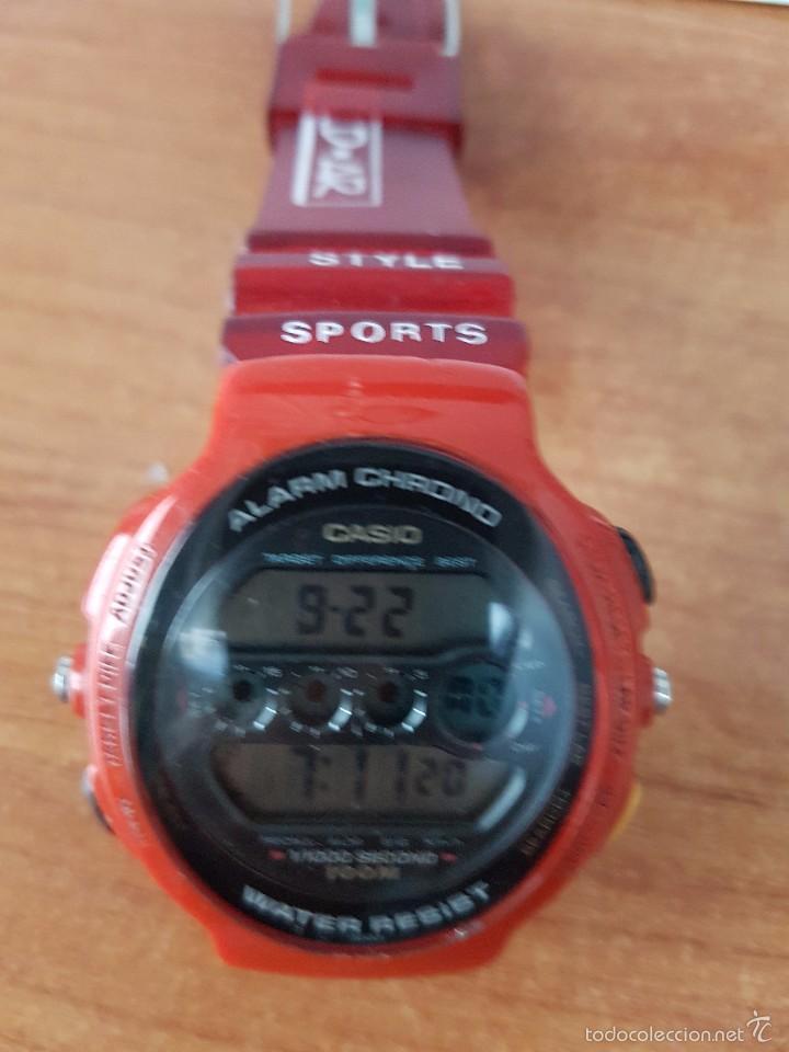 Relojes - Casio: Reloj de caballero (Vintage) Casio módulo 902. GPX-1000 de cuarzo digital con correa de goma - Foto 2 - 58709620