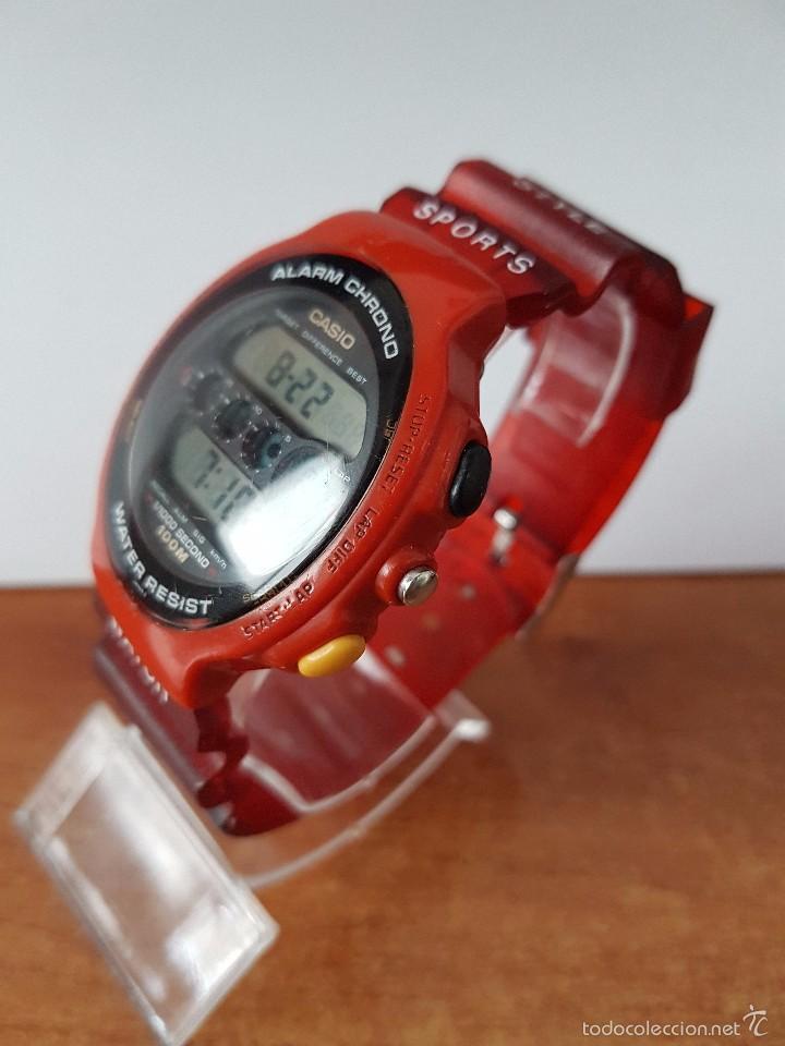 Relojes - Casio: Reloj de caballero (Vintage) Casio módulo 902. GPX-1000 de cuarzo digital con correa de goma - Foto 7 - 58709620