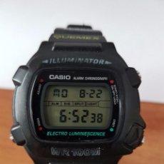 Relojes - Casio: RELOJ DE CABALLERO (VINTAGE) MÓDULO 1219 - W 740 ELECTRO LUMINESCENCE CON CORREA DE GOMA. Lote 58743095