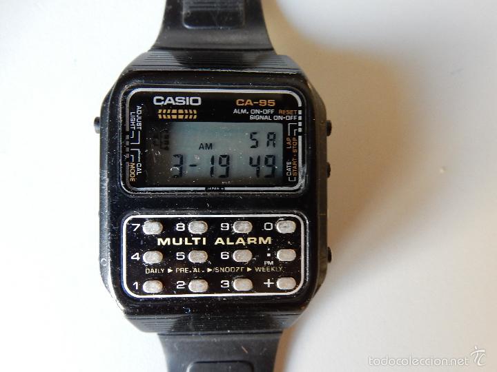 4e27e3b26057 antiguo reloj casio 166 ca-95. años 80. japan - Comprar Relojes ...