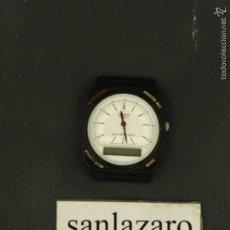 Relojes - Casio: RELOJ ANALÓGICO & DIGITAL CASIO MODELO AQ-33W SIN CORREA ESFERA FONDO BLANCO F565. Lote 103360500