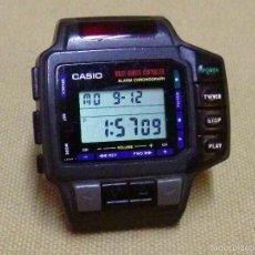 Relojes - Casio: RARO RELOJ CASIO, 1028 CMD 10, CONTROL REMOTO, TV Y VCR, SIN CORREAS, FUNCIONA. Lote 60407435