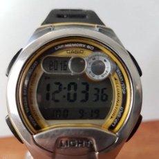 Relojes - Casio: RELOJ DE CABALLERO (VINTAGE) CASIO CALIBRE 2925 - W-752, CON CORREA DE GOMA FUNCIONANDO PARA SU USO . Lote 60771639