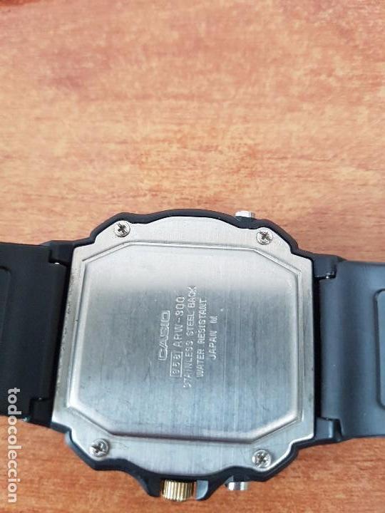 Relojes - Casio: Reloj de caballero Casio (Vintage) de los años 80 analógico y digital con correa de goma nueva. - Foto 4 - 61627492