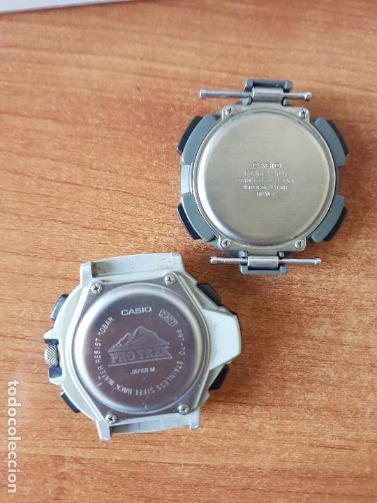 Relojes - Casio: Dos relojes de caballero (Vintage) Casio para repuestos (FORNITURAS) mirar fotos. - Foto 2 - 62139560