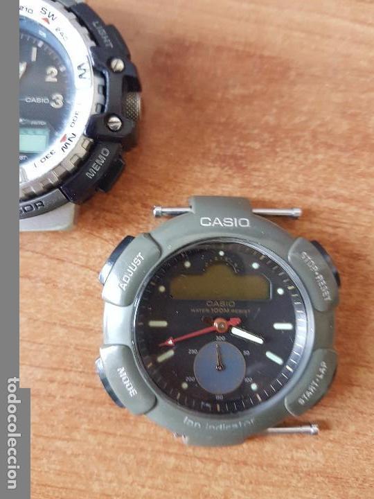Relojes - Casio: Dos relojes de caballero (Vintage) Casio para repuestos (FORNITURAS) mirar fotos. - Foto 7 - 62139560
