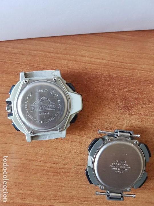 Relojes - Casio: Dos relojes de caballero (Vintage) Casio para repuestos (FORNITURAS) mirar fotos. - Foto 8 - 62139560