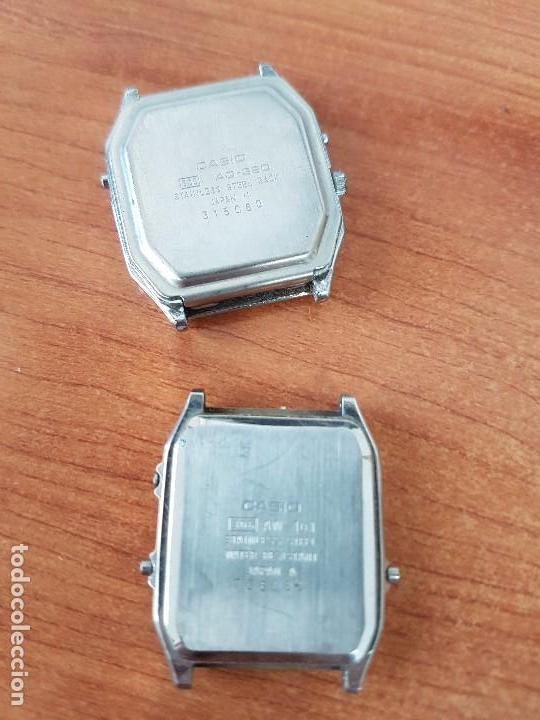 Relojes - Casio: Dos relojes de caballero (Vintage) Casio analógico y digital para repuestos o reparar - Foto 3 - 62141392