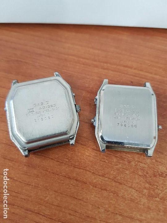 Relojes - Casio: Dos relojes de caballero (Vintage) Casio analógico y digital para repuestos o reparar - Foto 5 - 62141392
